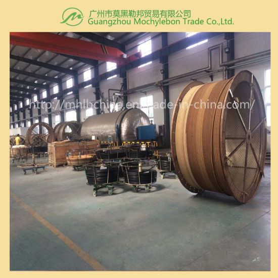"Steel Wire Braided Reinforced Rubber Covered Hydraulic Hose (SAE100 R2-1"") pictures & photos"