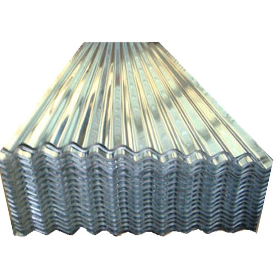 Building Material Gi Sheet Galvanized Zinc Coated Roofing Sheet in Ghana
