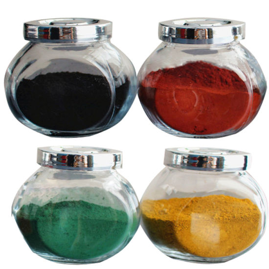 Red Yellow Black Brown Pigment Iron Oxide for Paint pictures & photos