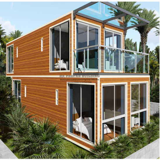 High Quality Modular Prefabricated Turn-Key Shipping Container House pictures & photos