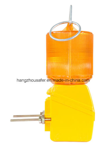 Single Battery Barricade Light/ Traffic Light (S-1315) pictures & photos