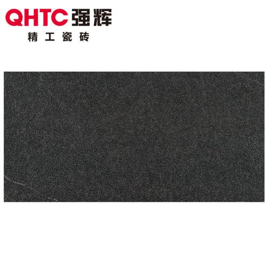 2019 Qhtc Building Materials Dark Grey 20mm Granite Look Porcelain Tiles 60X120