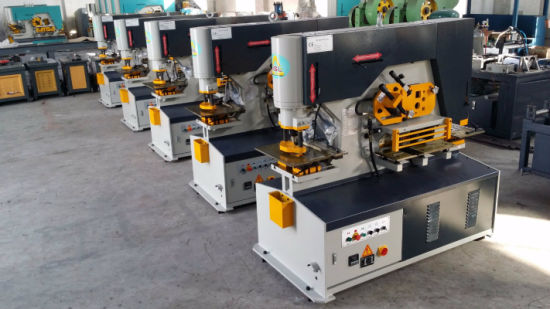 Diw-90e Hydraulic Ironworker with Competitive Price High Quality pictures & photos