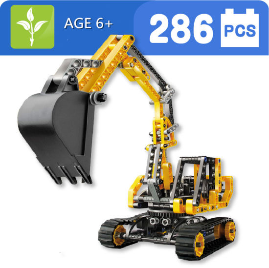 Kids Educational Plstic Excavator Blocks Toy pictures & photos