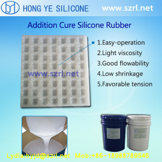 Easy Pouring 1: 1 Liquid Silicone Rubber in Food Grade