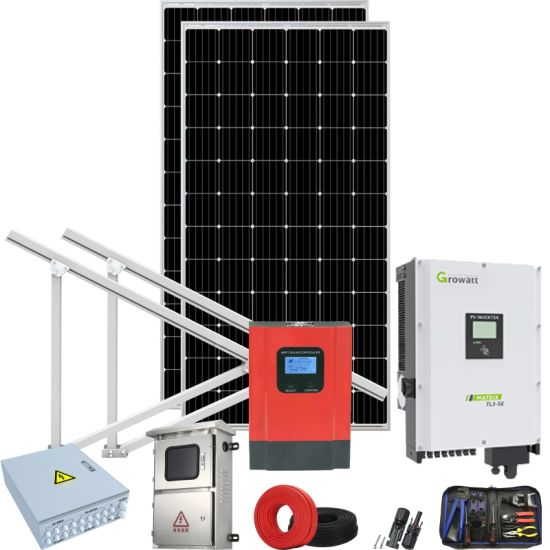 Green Solar 70kw Solar Power System