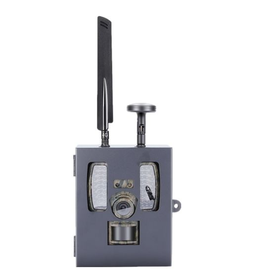 IP68 30MP HD 1080P Black Invisible IR Hunting Camera with GPS with  Anti-Theft Anti-Damage Willfine Sifar Lock Trail Camera Protect Metal Iron  Security