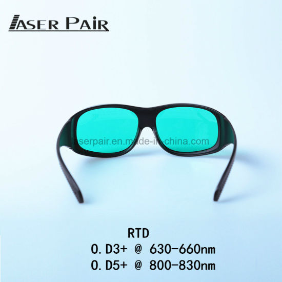 f3d177dec8 635nm and 808nm Laser Safety Google Glasses for Red and Diode Laser  Protection for Red Lasers