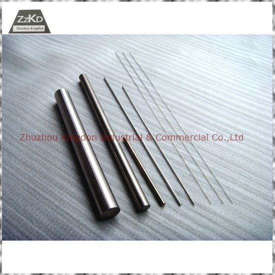Tungsten Carbide Rod -Cemented Carbide Rod- Cemented Carbide Bar pictures & photos