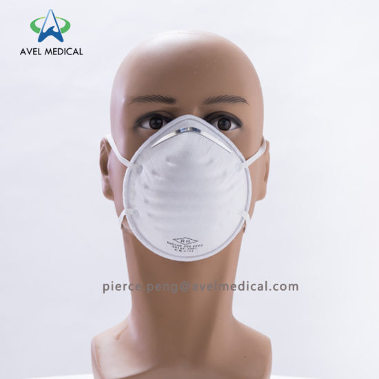 disposable dust mask with exhalation valve