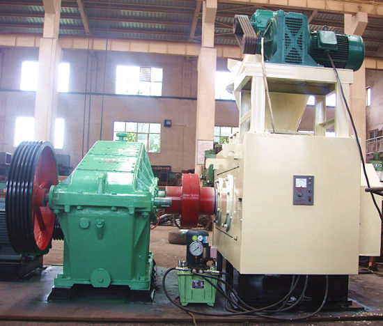 Force Feeding Screw High Pressure Briquetting Machine pictures & photos