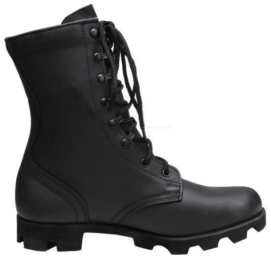 Genuine Leather Military Boots Mens Boots