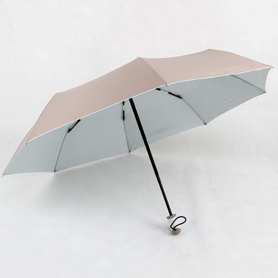 Good Selling Hot Sale Customized Logo Compact Portable Cheap Price Automatic Rain 3 Folded Umbrella