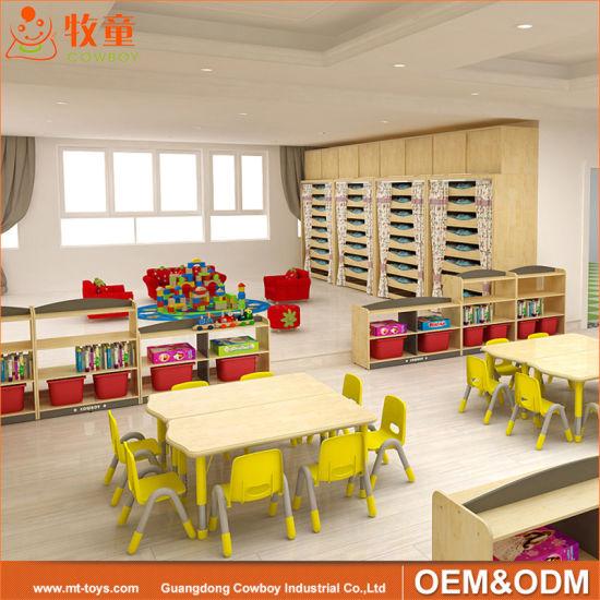 Daycare Center Solid Wood Kindergarten Children Nursery School Furniture