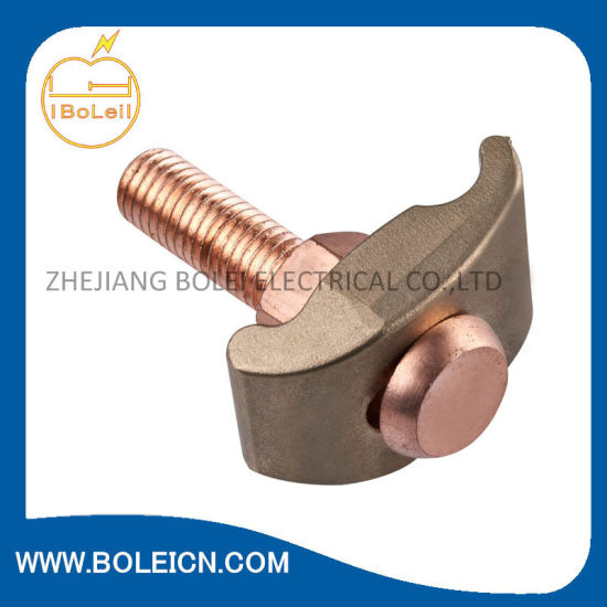 Bronze Bare Ground Clamp - Brass Screw pictures & photos