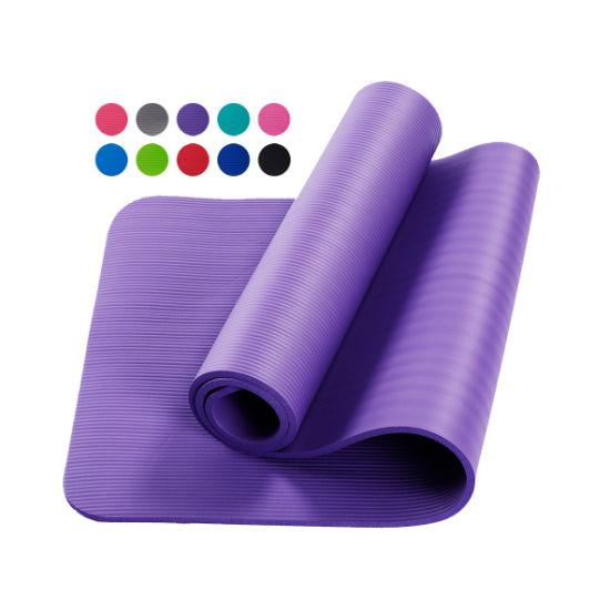 Dfaspo Yoga Mat NBR Non Slip Logo OEM