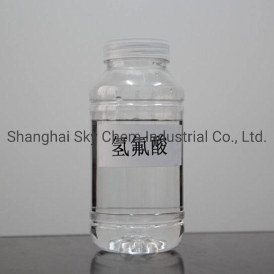 Hydrofluoric Acid 40% for Refrigerant Gas CAS No.: 7664-39-3