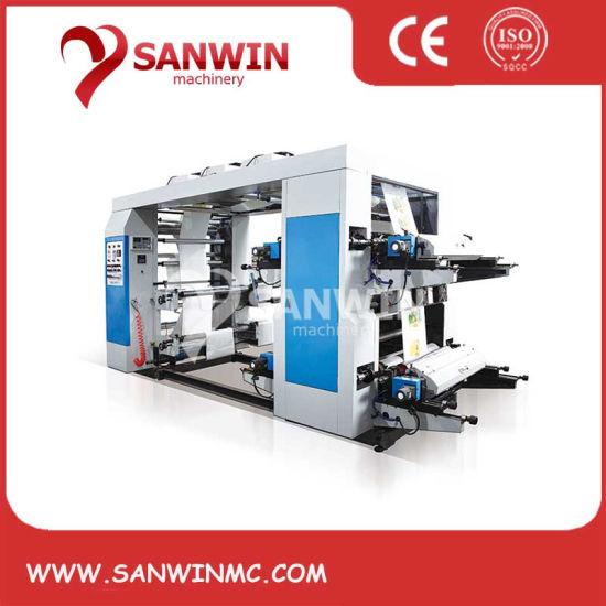 Four Color Flexographic Printer Machine