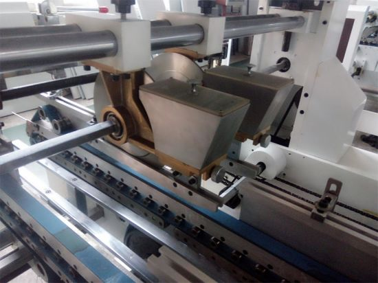 Automatic Competitive Four Six Corner Box Folder Gluer (Gk-1450SLJ) pictures & photos