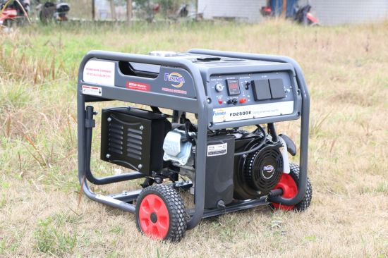 Genset Fusinda Fd2500 Hot Promotion Bensin Mesin Generator pictures & photos