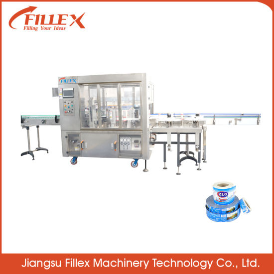 Water Bottle Carbonated OPP BOPP Bottle Pasting Machine with Many Certification