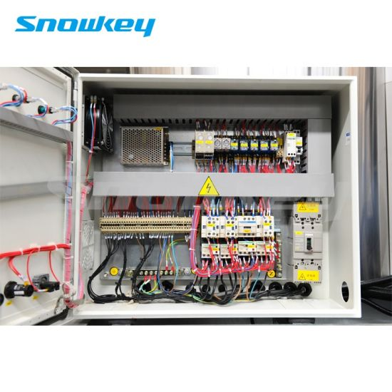 freon system flake ice maker machine commercial ice machine