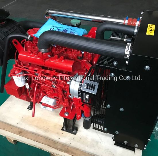FAW 80kw 4 Cylinder Water Cooled Fire Fighting Diesel Engine (4DX23-120) pictures & photos