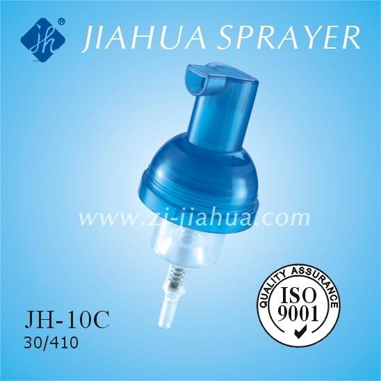 Lock Switch Fine Plastic Foam Pump Made in China (JH-10C)