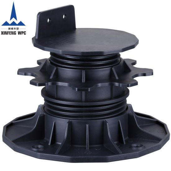 Strong Bearing Capacity Plastic Pedestals with Range 65-100mm for Deckings