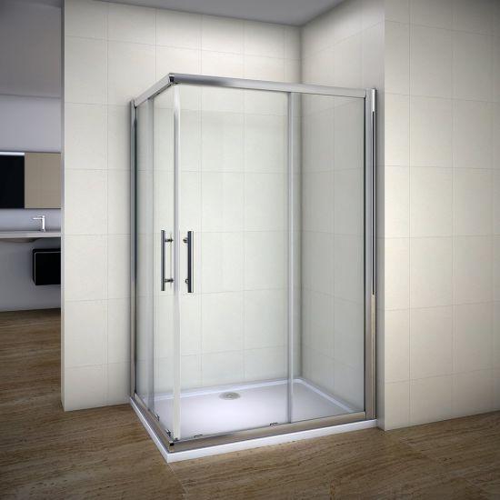 Bathroom Free Standing Glass Shower Cabin