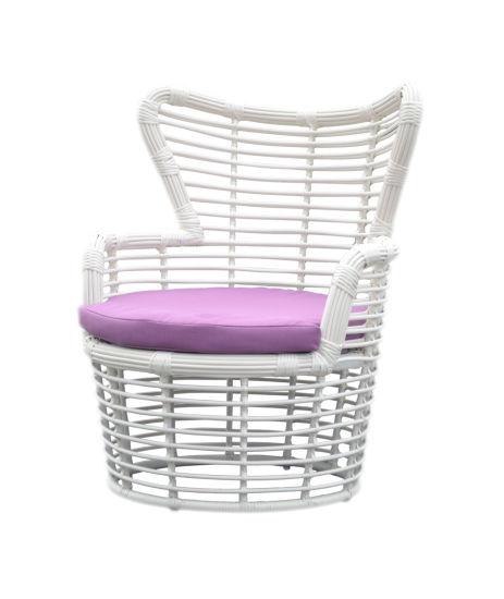 High Standard Outdoor Garden Sofa Set with PE Round Rattan