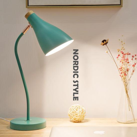 LED Table Lamp Modern Desk Lamp for Bedroom Bedside Lighting