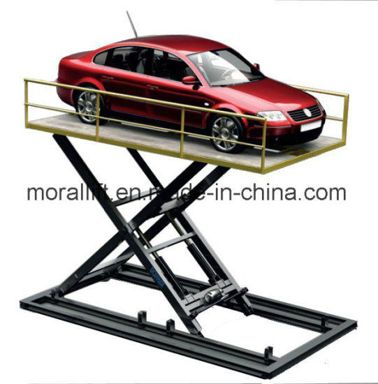 Hydraulic Scissor Car Lift with CE Certification pictures & photos