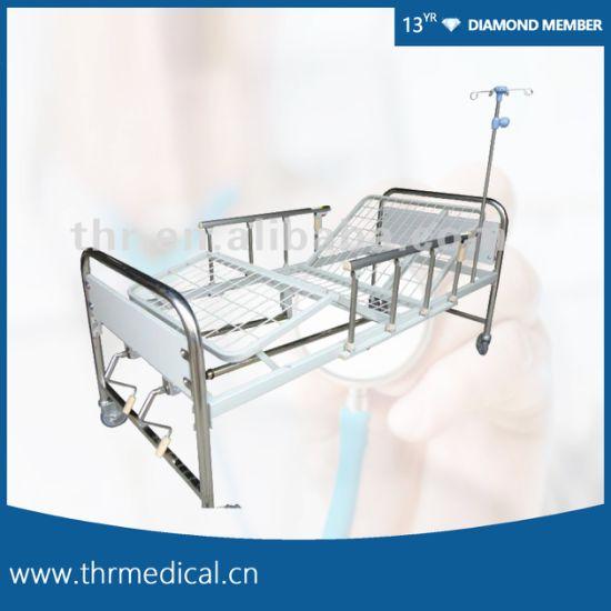 2 Crank Manual Steel Bed (THR-MB242)