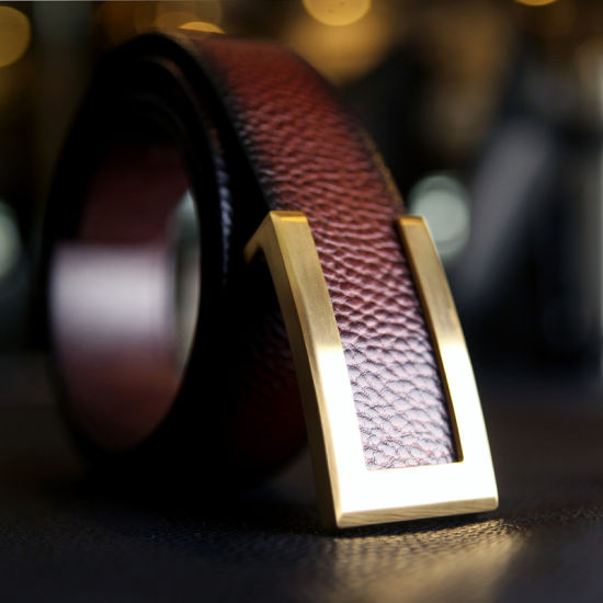 Wholesale Luxury Custom Leather Belts for Man