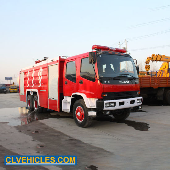 China Isuzu 10wheeler 6x4 16000 Liter Water Tank Fire Fighting Truck China Fire Fighting Truck Fire Water Truck