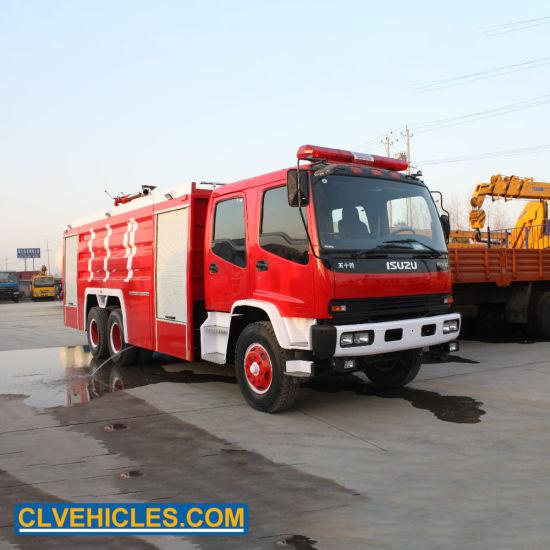 China Isuzu 10wheeler 6x4 16000 Liter Water Tank Fire Fighting Truck China Fire Fighting Truck Fire Water Truck