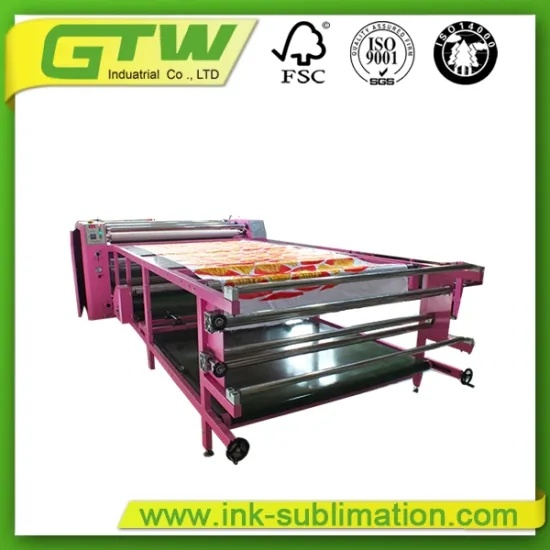600*1900mm Calender Heat Press Machine for Digital Textile Printing