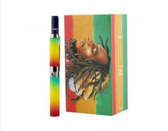 Wax Dry Herb E Cigarette Starter Kit Big Brand Smoking Device Flowers Herbal Smoking Vape Pen Bob Marley