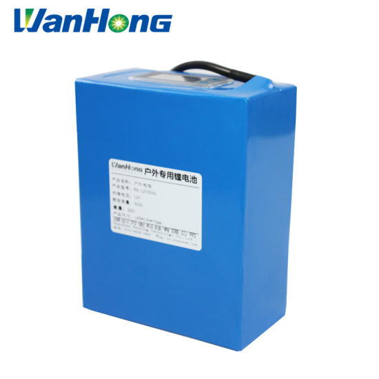 12V 50ah Li-ion Battery Pack/LiFePO4 Batteries/Deep Cycle Battery/Lithium Iron Phosphate Batery/Rechargeable Lithium Ion Battery