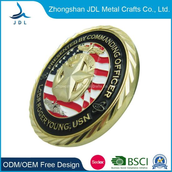 China What Are Military Coins Made Challenge Coins