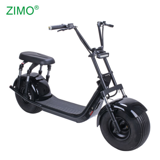 European Warehouse 1500W Fat Tire Adult Seev 200kg Load EEC Coc Citycoco 2 Person Electric Scooter Europe