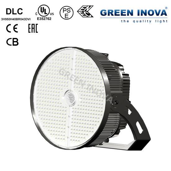 LED Halogen Replacement Flood Lighting Stadium Sports Light with Dlc UL Ce CB ENEC Eac SAA PSE Nom (300W 400W 500W 600W 750W 950W 1200W)