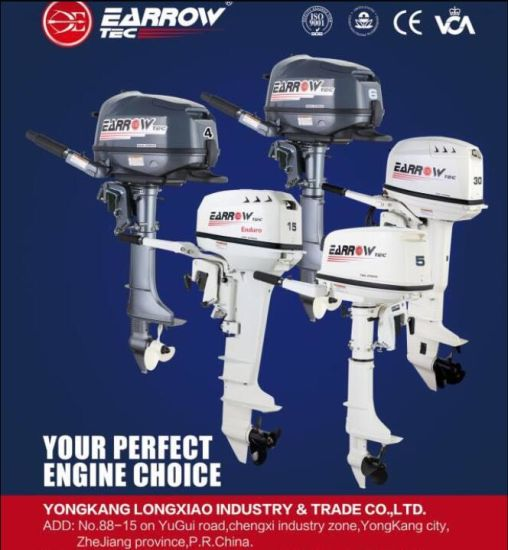 China 2 Stroke Outboard Engines for Sale 15HP Enduro Boat