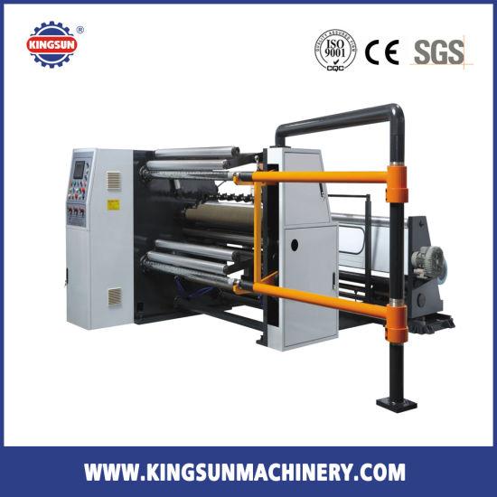 KSFQ-E Series High Speed Plastic Film Slitter Rewinder Machine