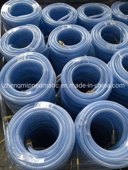 PVC environmental Transparent Blue Water/Air Hose (5*11mm)