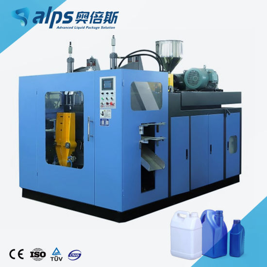Automatic Plastic HDPE / PP Bottle Jar Extrusion Blow Molding Machine / Jerry Can Hollow Blowing Moulding Machinery