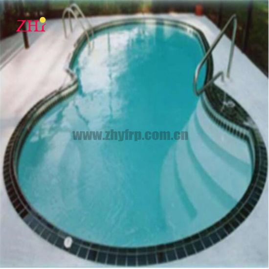 China Metal Frame Small Family Rectangular Fiberglass Swimming Pool China Pool Swimming And Indoor Swimming Pool Price