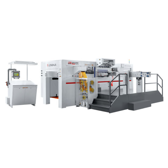 Good Performance Post Press Hot Foil Stamping Die Cutting Machine Lh1050fh