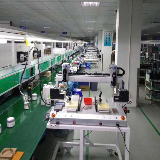 Double Platform Automatic Screwdriver Machine for Various Screw Installation of Computors